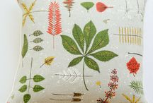 Natural Beauties / Beautiful home textiles high in natural fabric content like all-natural linen, cotton matelasse, cotton crepe barkcloth, cotton velvet, lambswool, and more