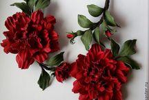 leather flowers / fiori di pelle
