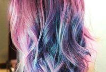 Rainbow / Rainbow haircolor