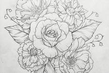 цветы рисунки