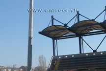 Stadium Lighting Poles