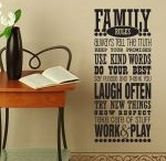 WALL DECALS FOR THE HOME