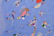 Wassily Kandinsky; Blank journals / Blank Journals. Cover images: paintings by Wassily Kandinsky