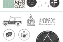 Mood Boards / Some of Nomad's mood boards for our branding clients.