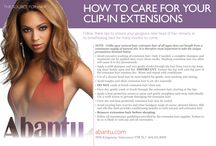 HOW-TO GUIDES from Abantu / Featuring instruction and advice on how best to care for your new hair investment. Of course, what you can't find here, Abantu staff will be glad to assist with, whether you're instore or reaching us by phone at 604.431.8008