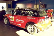 An incredible #CTSC #MINI getting ready for practice before the #BMW200 qualifying begins! @MINI @disupdates #racing #automotive #race #daytona http://ift.tt/1WS1RDi