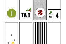 Sasparilla Design Advent Calendar 2013 / Pages from the 2013 Sasparilla Design Facebook Advent Calendar / by Sasparilla Design