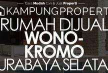 Rumah Dijual / Disewakan di Surabaya Selatan