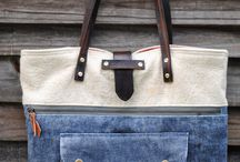 Jeans/denim bag