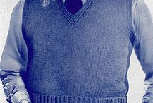 mens knitted pullover