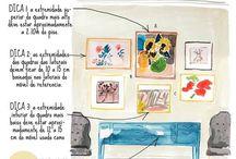 Idéias para decoração / by Elaine Cristofalo Dos Santos