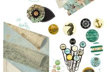 Paper Collections / Favourite scrapbook paper collections from various companies