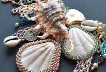 beads and shells