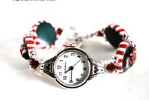 Blue Morning Expressions Bracelets / Handmade beaded bracelets
