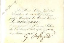 Famille et alliés (en cours numérisation) / Photos de documents originaux de famille.