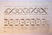 1780-1820 Embroidery Patterns / by Aubry