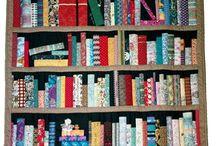 Book shelf quilts