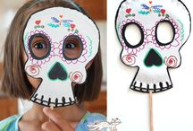 kids mask  and costume / masks for kids / by Кrокотак