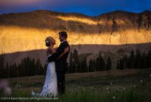 Arapahoe Basin Ski Area Wedding Pictures / Wedding pictures from Arapahoe Basin Ski Area in the Colorado Rockies. Destinations Mountain wedding venue near the Continental Divide.