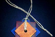 Wooden Jewelry / Handmade wooden jewelry www.etsy.com/shop/BitterCandyShop