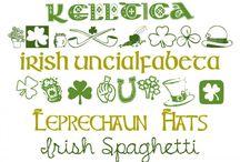 St. Patrick's Day Fonts