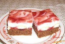 sladkosti / Řezy, rolády, dorty, bábovky