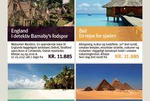 Rejse Annoncer / Her finder du ATravel annoncer med flere spændende rejsemål -ring til os på + 45 7879 0800 hvis du har specielle ønsker