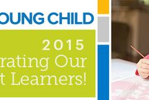Week of the Young Child 2015 / A collaboration board - Constructing for the Future