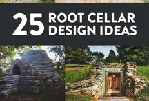 How to build root cellars