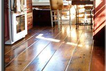 Wide-plank wood floors I love