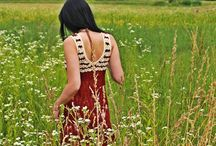 crocheted shirts and dresses