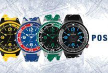 Ρολόγια POSEIDON BY KIENZLE σε έντονα χρώματα!!!
