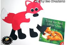 Forest Animals / Crafts, activities, bulletin boards, fun foods, and ideas based around a forest animal theme.