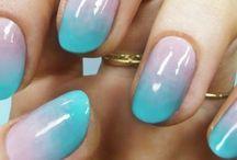 Nalls tips , art nails / Nails n make  up tips  / by Sharon Fahy