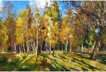 Autumn / Autumn on postcards