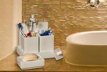 Kits para Banheiro / Lindos kits para banheiros. Funcionalidade e bom gosto na sua decoração.