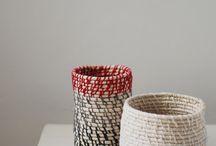 Rope Basket - Körbe aus Wäscheleine