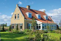 Romantische woningen / Een bouwstijl met een knipoog naar vroeger tijden - Meer over onze bouwstijlen op http://www.z-wonen.nl/bouwstijlen