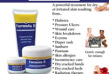 Skin Care / Formula II is great for all type of dry or irritated skin conditions.