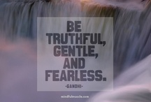 Being Fearless / Without fear; brave. How to live fearlessly - see tips and inspiration from patriciaapatton.com #BoomerWisdom