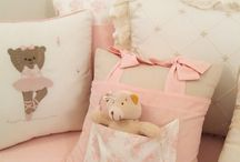 Coleção Ursa bailarina / Um quarto meigo, delicado e muito charmoso.