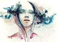 Illustration, drawing and painting / Sketches and artwork from talented illustrative artists  / by Chloe