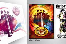 Carlotta Valdes / Carlotta Valdes : French group of funk music. Designing of the graphical charter : logo - flyers - posters - etc... Groupe français de musique funk. Création de la charte graphique : ( logo - flyers - affiche - etc... )