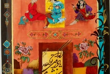 practice painting / persian painting