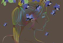 behance / Artes de estamparia têxtil e design de superfície. Artes manuais, em alta resolução, originais e autorais, exclusivas. www.emanuellascoz.com