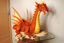 Gâteaux En Forme De Dragon