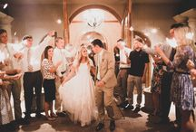 OUR WEDDING DAY / seafoam green, gold sequin, peony, sparkler wedding