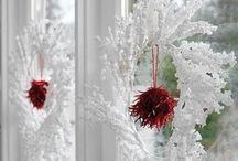 christmas, window displays