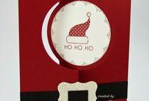 Santa Christmas cards