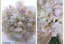 Bridal bouquets with silk flowers     זרי כלה מעוצבים בפרחי משי      / Bridal bouquets with silk flowers     זרי כלה מעוצבים בפרחי משי